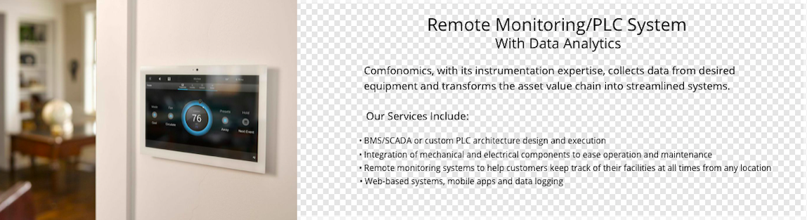 Remote Monitoring/PLC System
